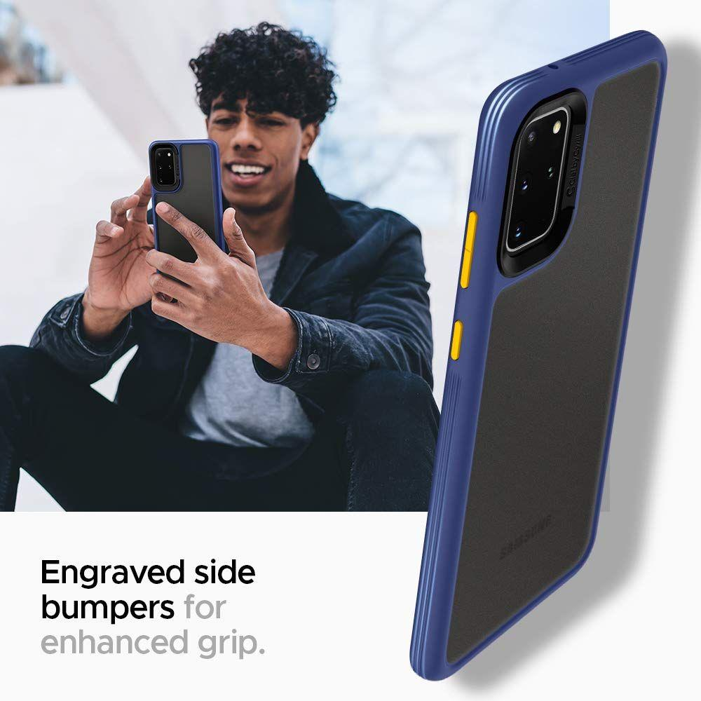 Spigen Ciel Color Brick silikonové pouzdro na Samsung Galaxy S20 Navy