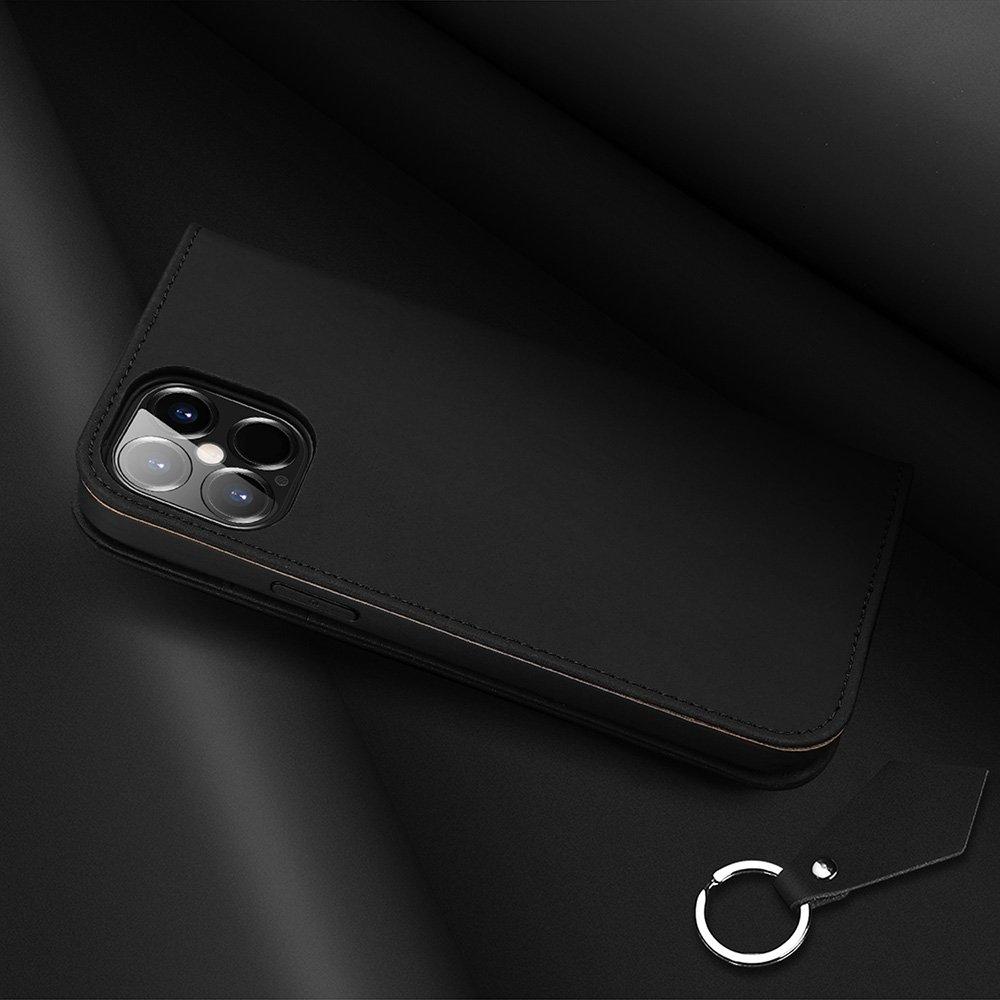 "DUX DUCIS Wish kožené pouzdro na iPhone 12 Pro Max 6.7"" black"