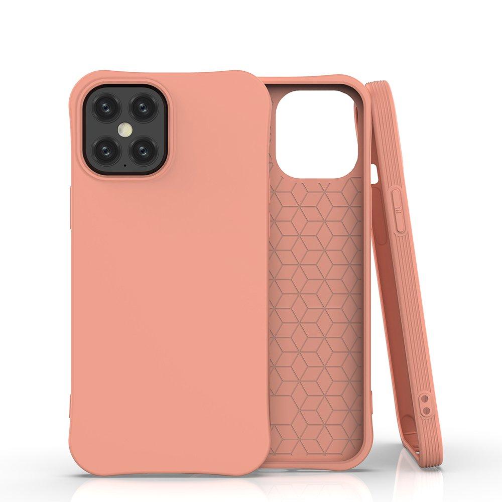 Gelové pouzdro Soft Color Case pro iPhone 12 Pro Max , oranžová 9111201912229