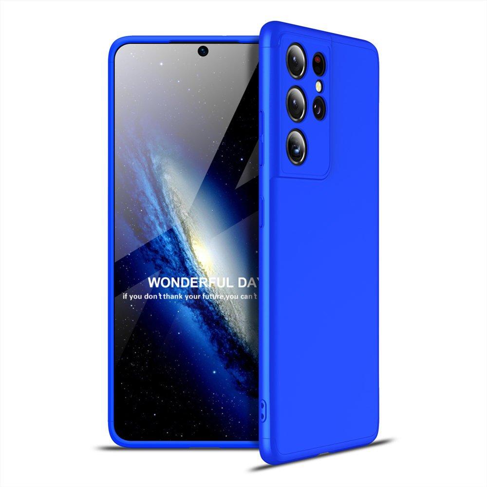 GKK 360 Protection pouzdro na Samsung Galaxy S21 Ultra 5G blue