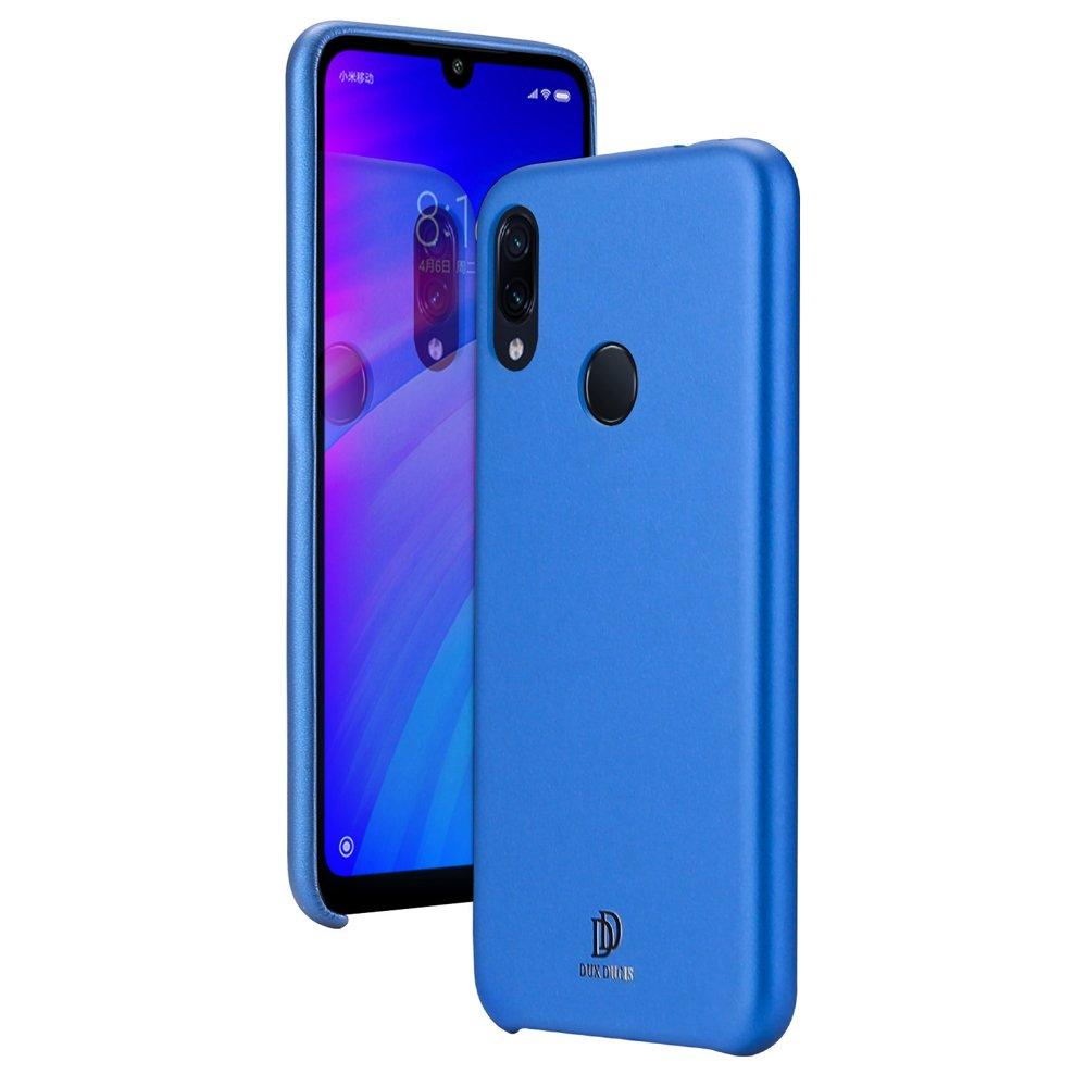 DUX DUCIS Skin Lite eko kůže pouzdro pro Xiaomi Redmi 7 blue