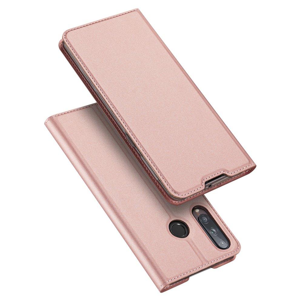 DUX DUCIS Skin knížkové pouzdro na Huawei P40 Lite E pink