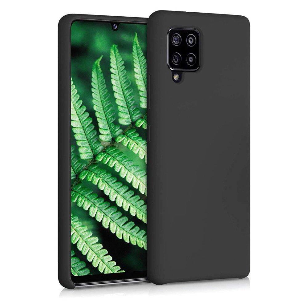 Silikonové pouzdro LUX na Samsung Galaxy A42 5G black