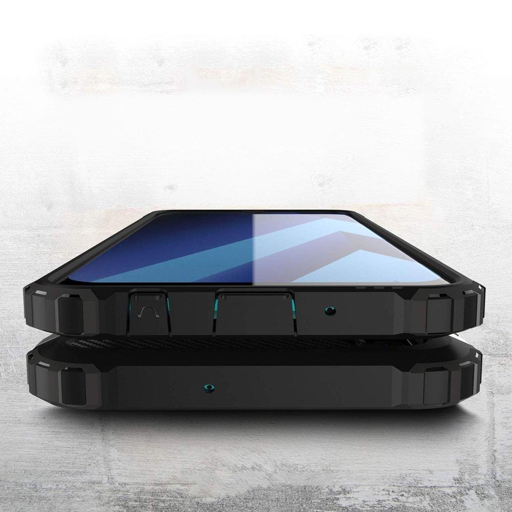Hybrid polykarbonátové pouzdro Samsung Galaxy A70 black