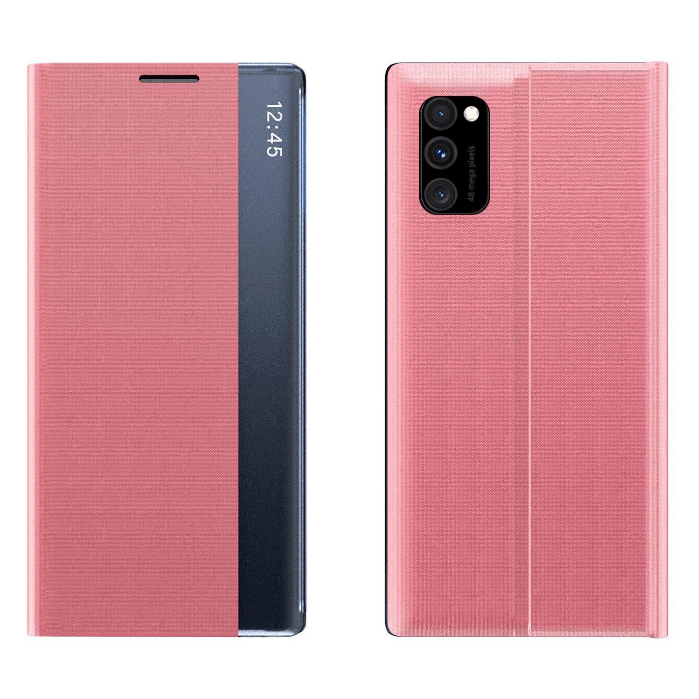 New Sleep knížkové pouzdro naSamsung Galaxy Note 10 Lite pink
