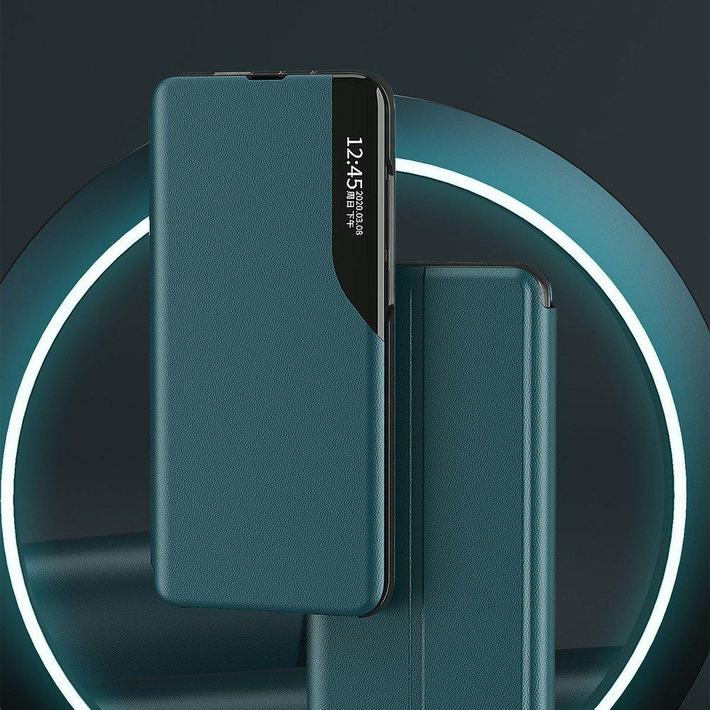 Knížkové pouzdro s imitací kůže na Xiaomi Redmi Note 8 Pro blue