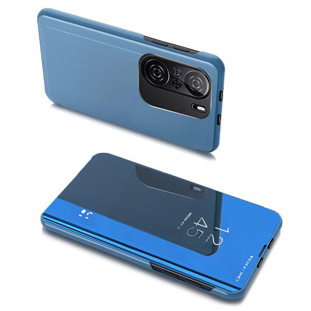 flipové pouzdro Clear View pro Xiaomi Redmi K40 Pro+ / K40 Pro / K40 / Poco F3 , modrá 9111201930445