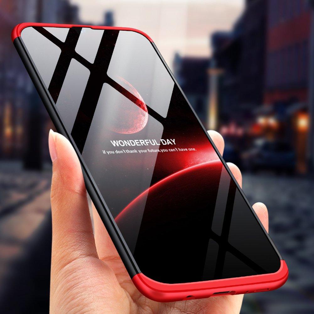 GKK 360 Protection pouzdro pro Samsung Galaxy A70 black-red