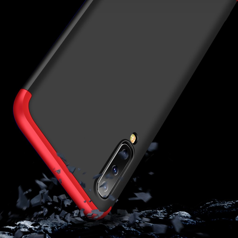 GKK 360 Protection pouzdro pro Samsung Galaxy A70 black-red