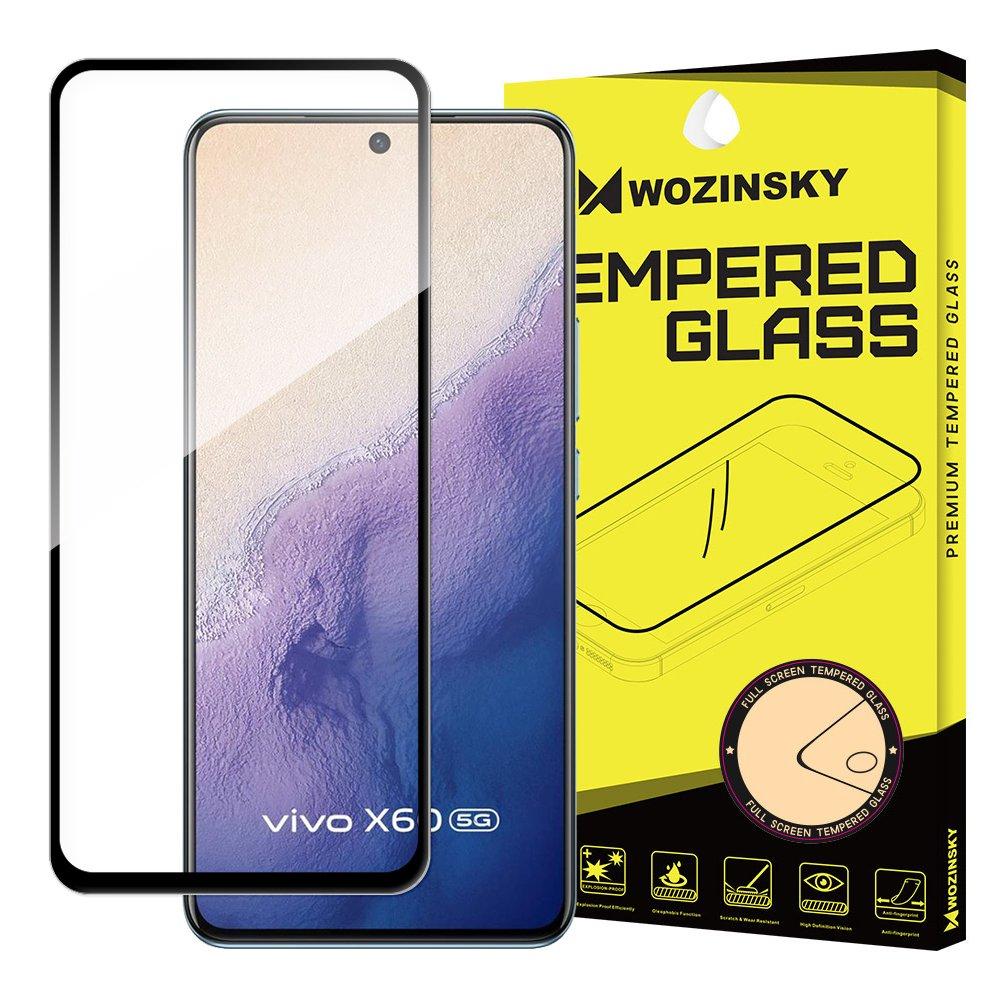 5D tvrzené sklo s rámečkem pro Vivo X60 , černá 9111201928152