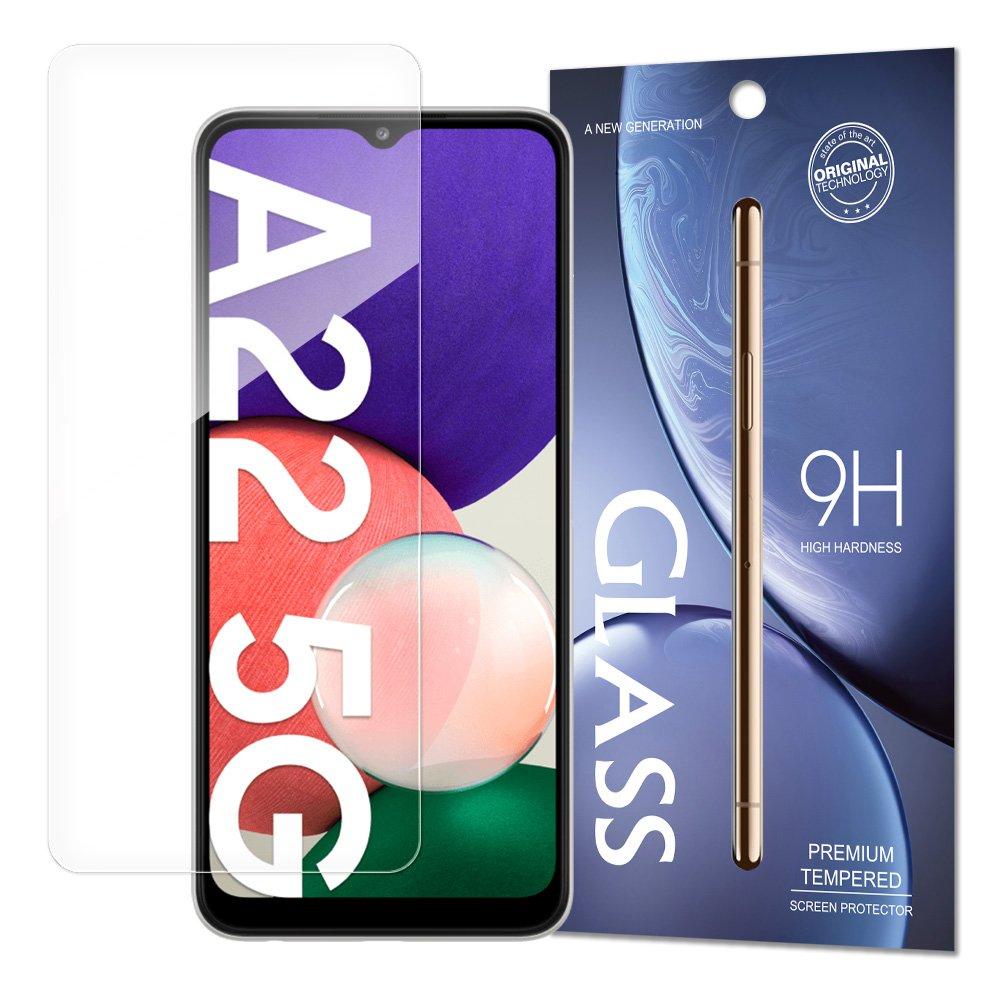 Temperované tvrdené sklo 9H pre Samsung Galaxy A22 5G (balené v obálke)