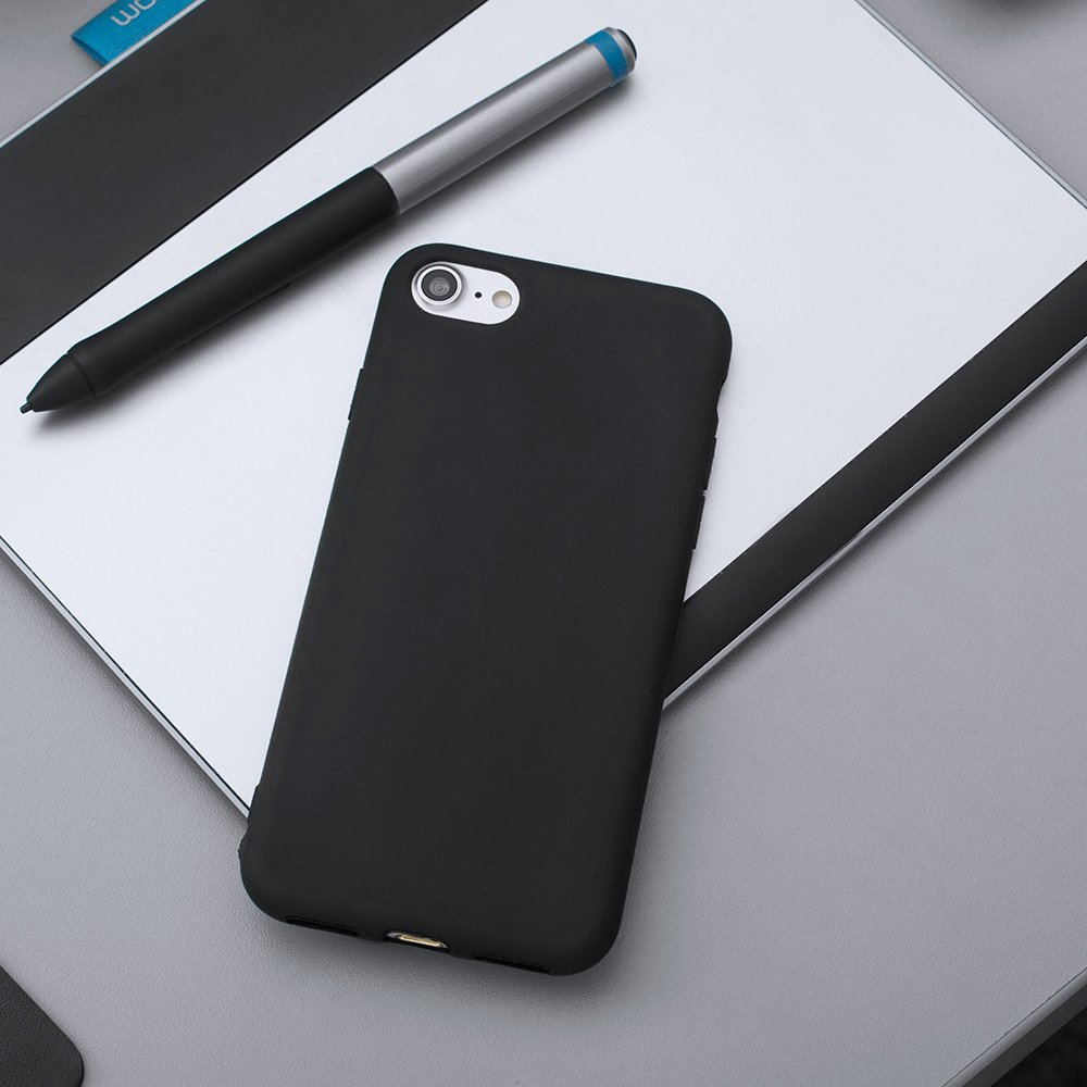 Soft Matt silikonové pouzdro pro Xiaomi Redmi 7 black