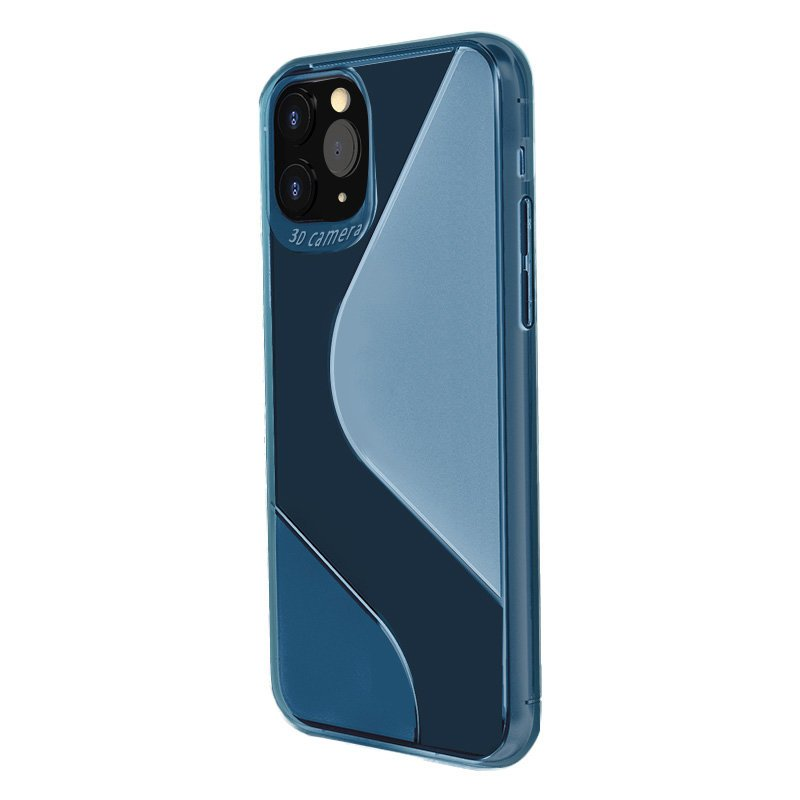 S-Case silikonové pouzdro na Samsung Galaxy A21s blue
