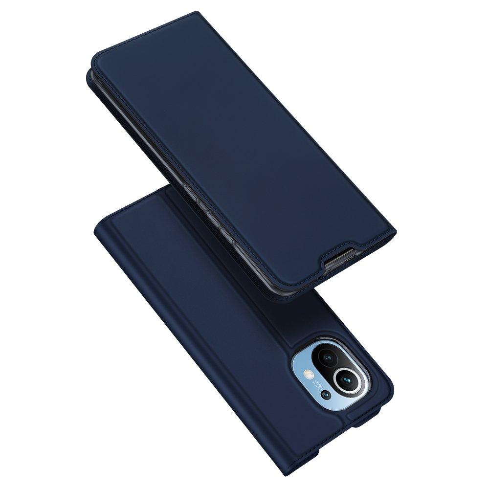 DUX DUCIS Skin knížkové pouzdro na Xiaomi Mi 11 blue