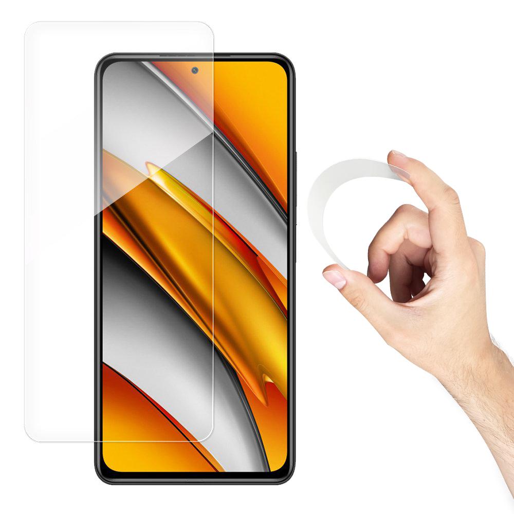 Wozinsky Flexi Nano Hybrid tvrdené sklo pre Xiaomi POCO F3 / Mi 11i