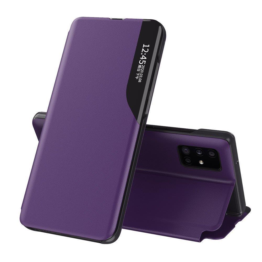 Knížkové pouzdro s imitací kůže na Samsung Galaxy S20 Ultra purple