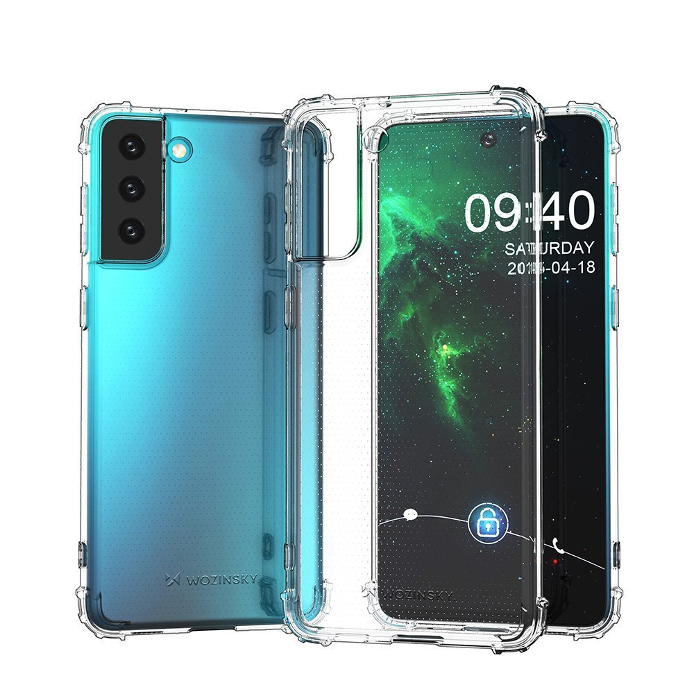 Wozinsky Anti Shock silikonové púzdro MIL-STD-810G 516.6 preSamsung Galaxy S21 FE 5G transparent