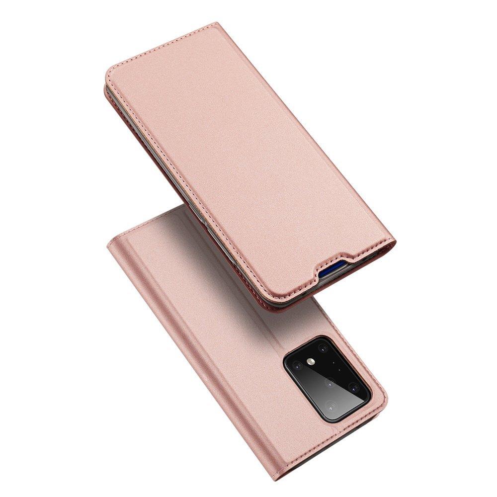 Flipové pouzdro Dux Ducis skin Samsung Galaxy S20 Ultra , růžová