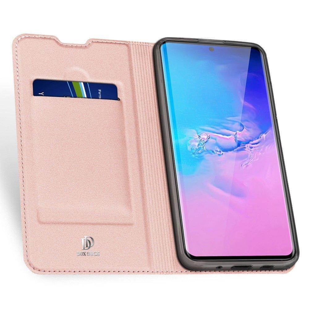 DUX DUCIS Skin knížkové pouzdro na Samsung Galaxy S20 ULTRA pink