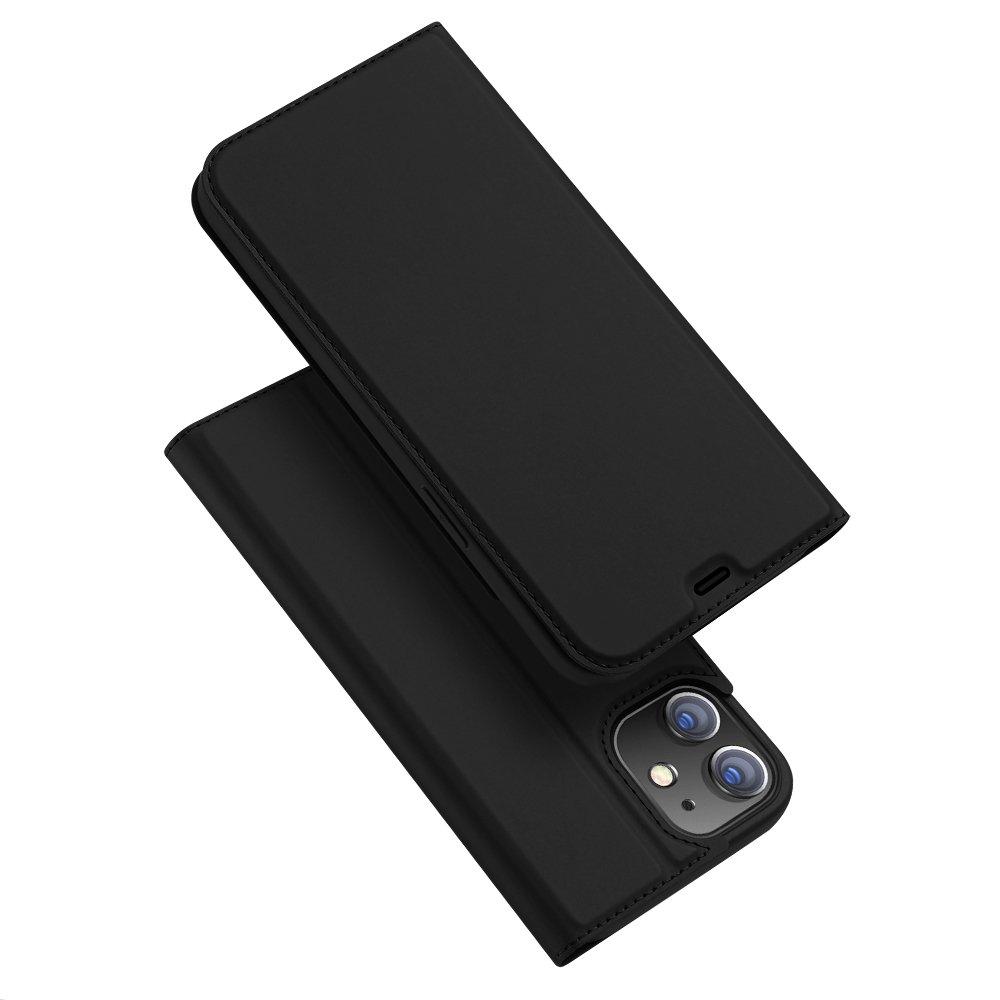 DUX DUCIS Skin knížkové pouzdro na iPhone 12 / 12 Pro black