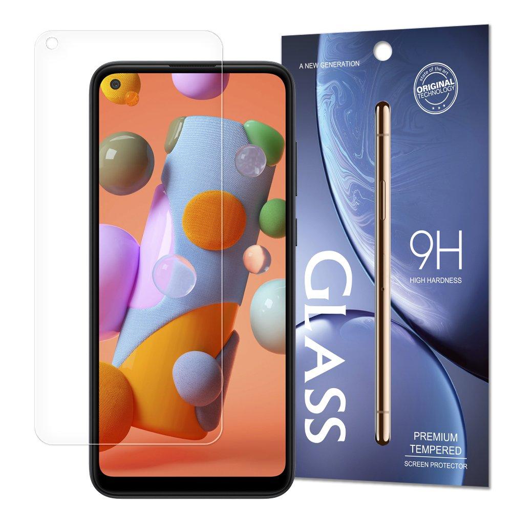 Temperované tvrzené sklo 9H na Samsung Galaxy A11 / M11 (baleno v obálce)