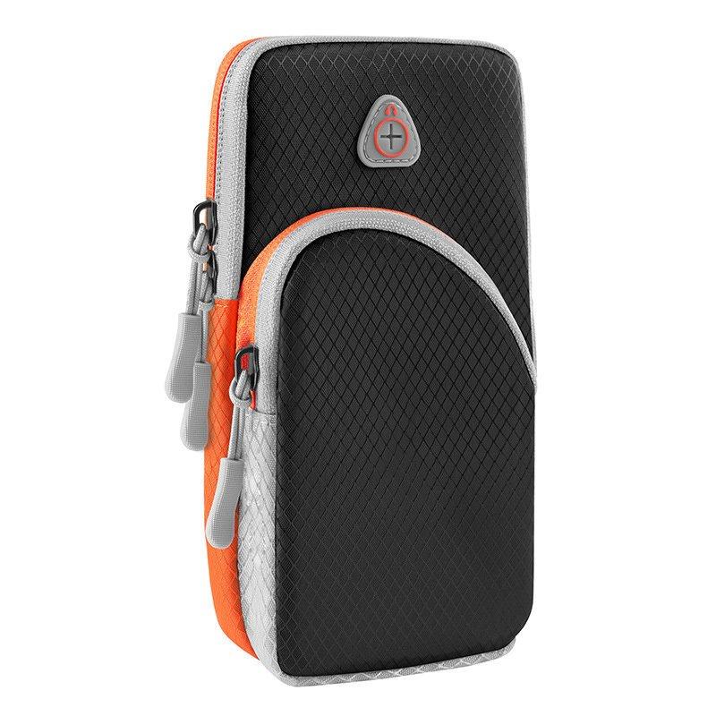 Běžecké pouzdro pro mobil na ruku, univerzální , černá 9111201926226