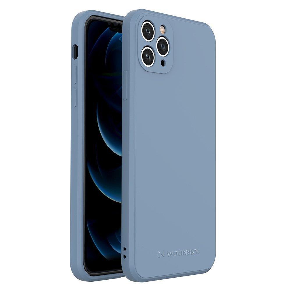 Wozinsky Color Case silikonové pouzdro naiPhone 11 Pro Max blue