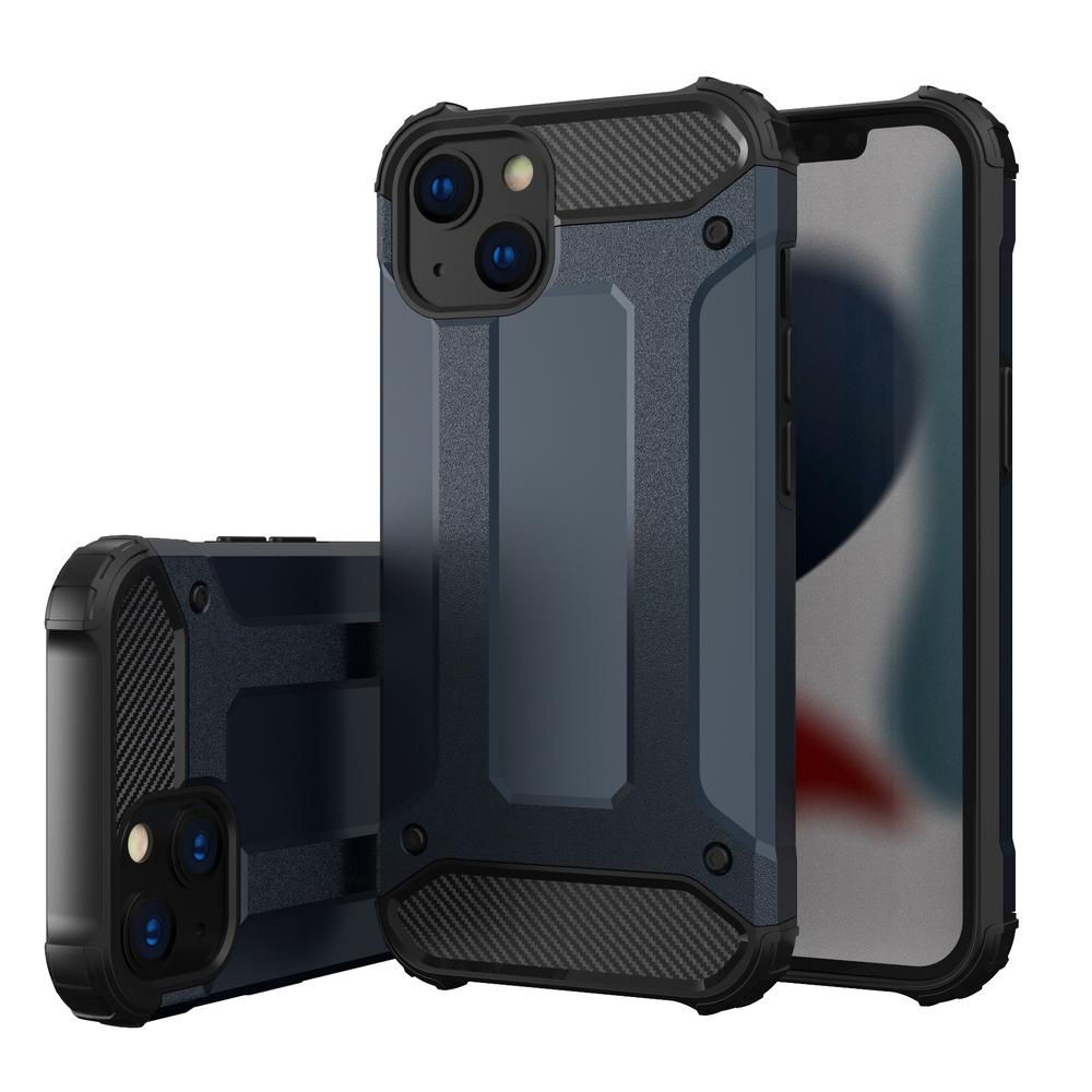 "Hybrid pancéřové polykarbonátové pouzdro na iPhone 13 6.1"" blue"