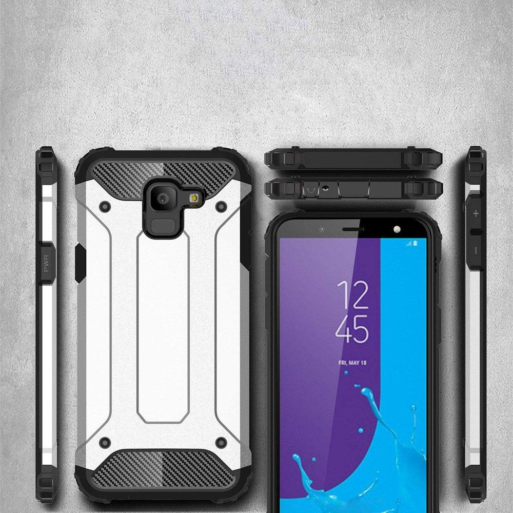 Hybrid pancéřové polykarbonátové pouzdro Samsung Galaxy J6 2018 J600 black