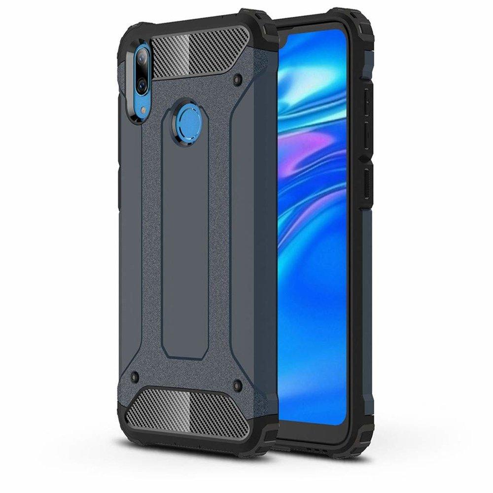 Hybrid Armor Case odolné pouzdro pro Asus ZenFone Max Pro M2 ZB631KL , modrá 7426825370877