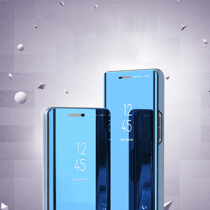 Knižkove púzdro pre Xiaomi Redmi 8A pink s priehľadnou prednou stranou