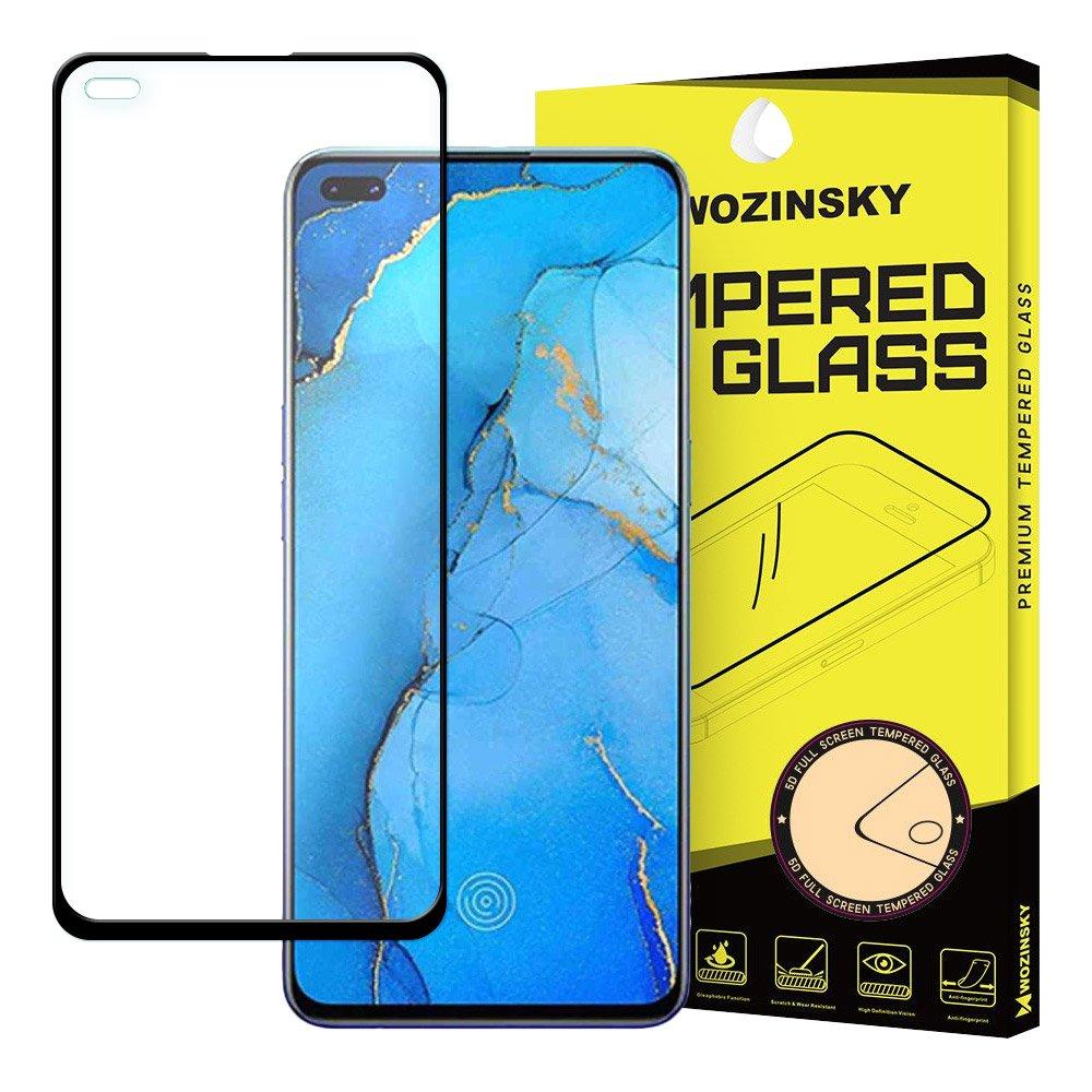 5D tvrzené sklo s rámečkem pro Oppo Reno3 Pro , černá 9111201905986