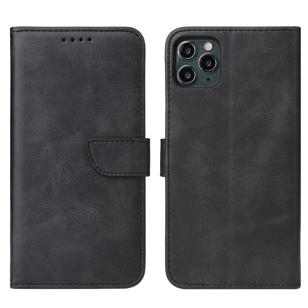 Magnet Case elegantné knížkové púzdro pre iPhone 11 Pro Max black