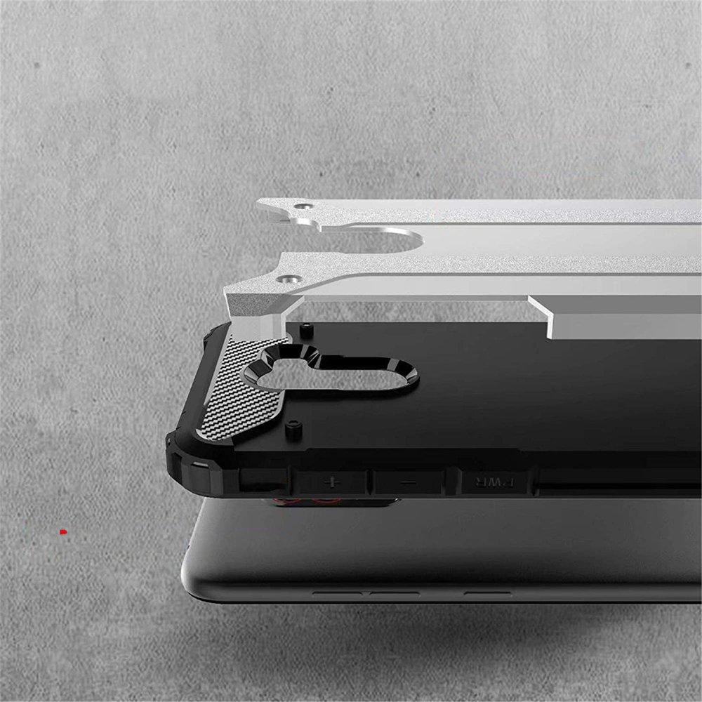 Hybrid pancéřové polykarbonátové pouzdro na Xiaomi Pocophone F1 blue