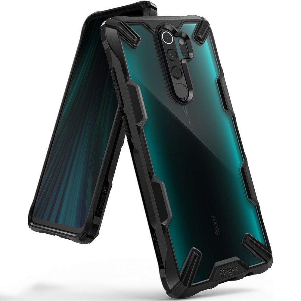 Ringke Fusion X pancéřové pouzdro na Xiaomi Redmi Note 8 Pro black