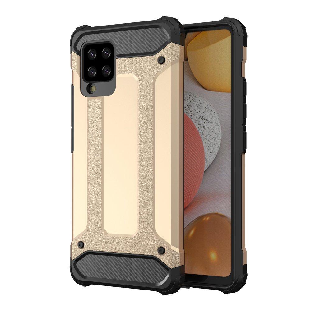 Hybrid Armor Case odolné pouzdro pro Samsung Galaxy A42 5G ,zlatá 9111201914773