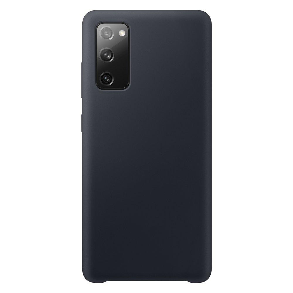 Silikónové púzdro LUX na Samsung Galaxy S20 FE 5G black