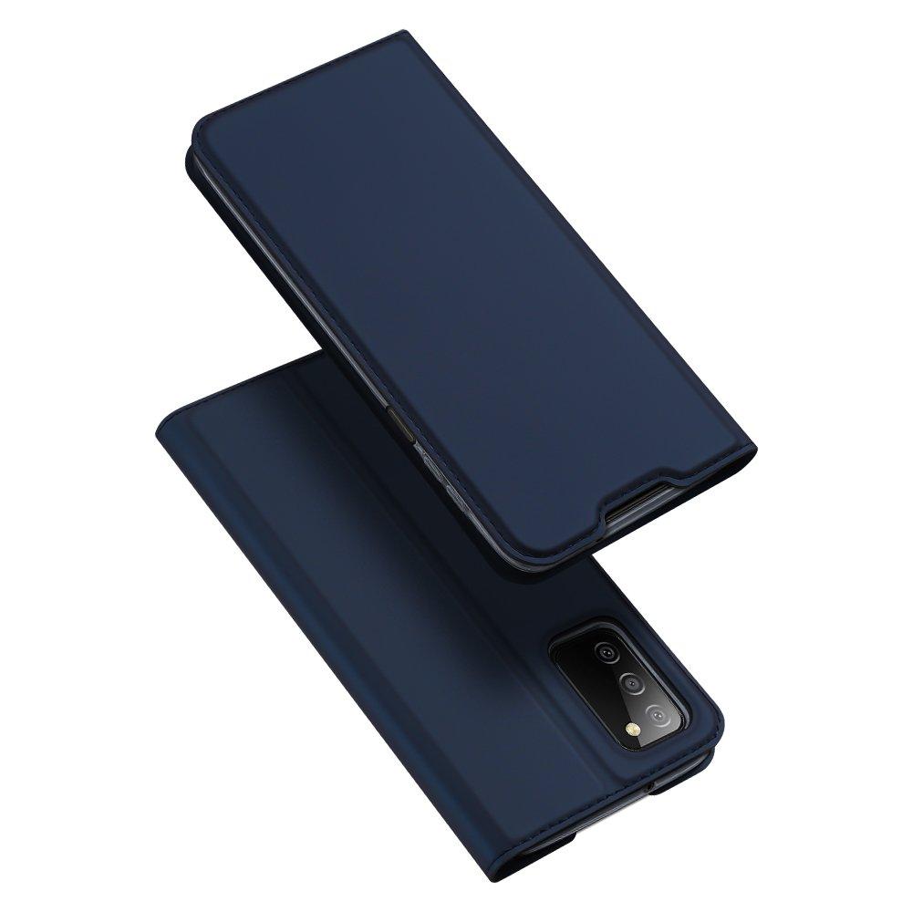 Flipové pouzdro Dux Ducis skin Samsung Galaxy A03s , modrá 6934913049709