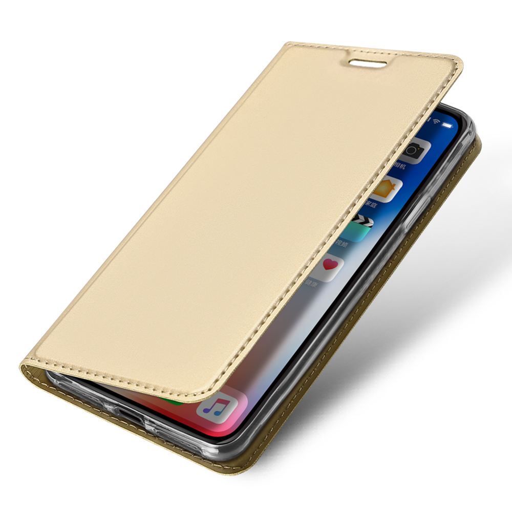 Pouzdro DUX DUCIS Skin iPhone XR golden