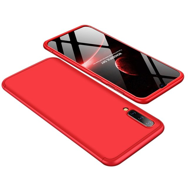 GKK 360 Protection pouzdro pro Samsung Galaxy A50 red