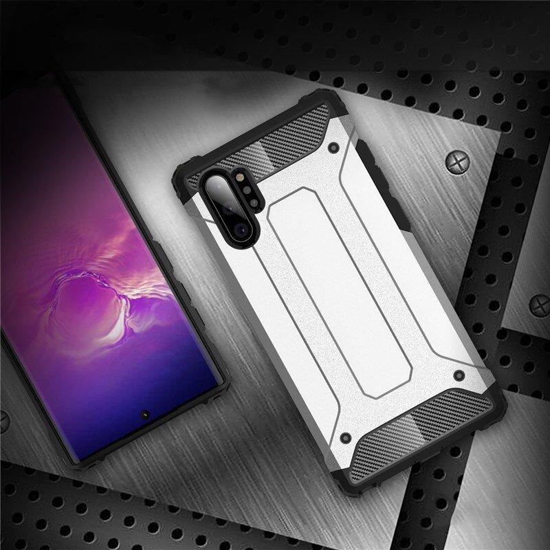 Hybrid polykarbonátové pouzdro pro Samsung Galaxy Note 10 Plus black
