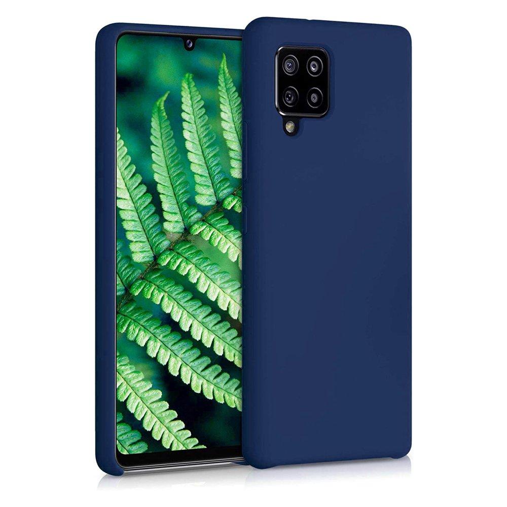 Silikonové pouzdro LUX na Samsung Galaxy A42 5G blue