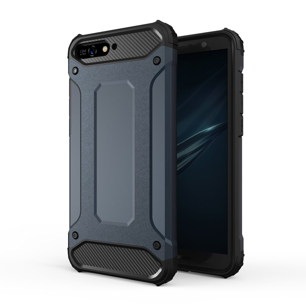 Hybrid Armor Case odolné pouzdro pro Huawei Y6 2018 , modrá 7426825350800