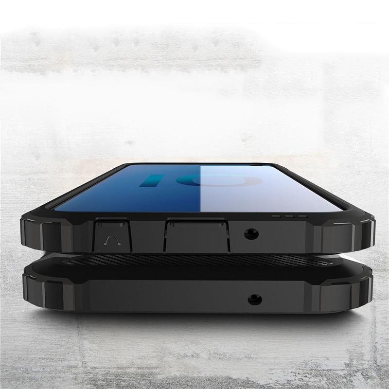Hybrid polykarbonátové pouzdro pro Samsung Galaxy S10e silver