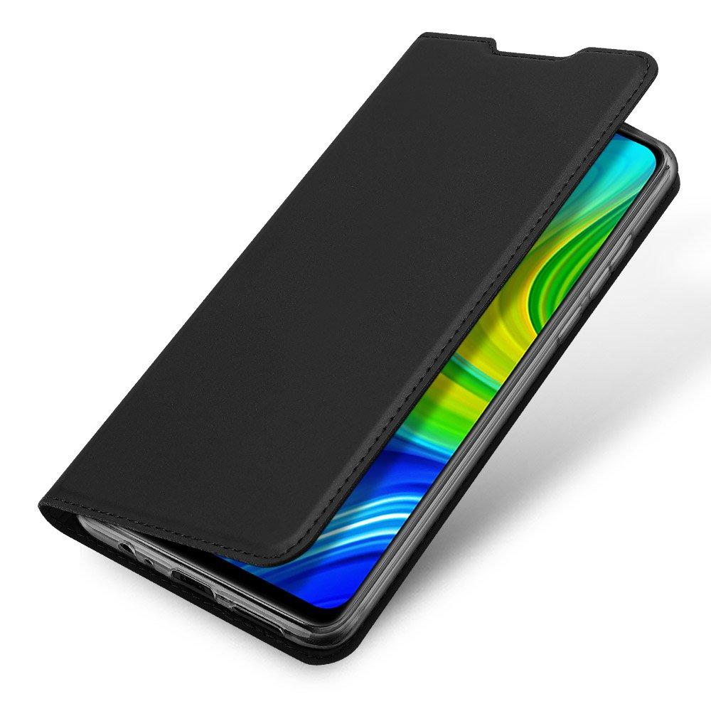 DUX DUCIS Skin knížkové pouzdro na Xiaomi Redmi Note 9 / Redmi 10X 4G black