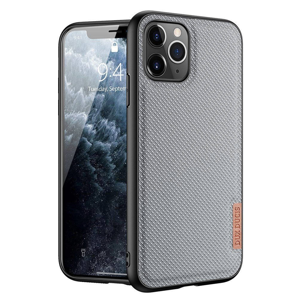 Luxusní pouzdro Dux Ducis Fino Nylon ,  iPhone 11 Pro , modrá 6934913053454