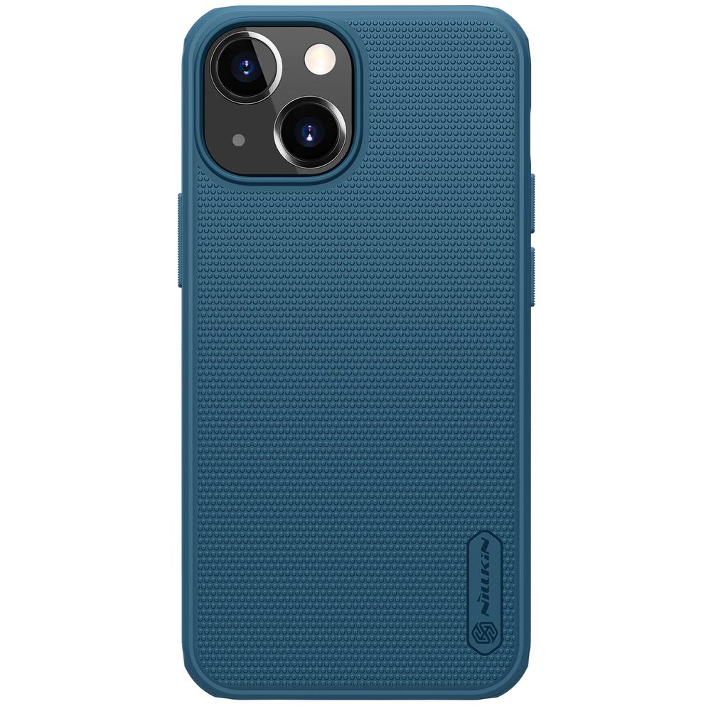 Nillkin Super Frosted Pro silikonové puzdro na iPhone 13 Mini blue