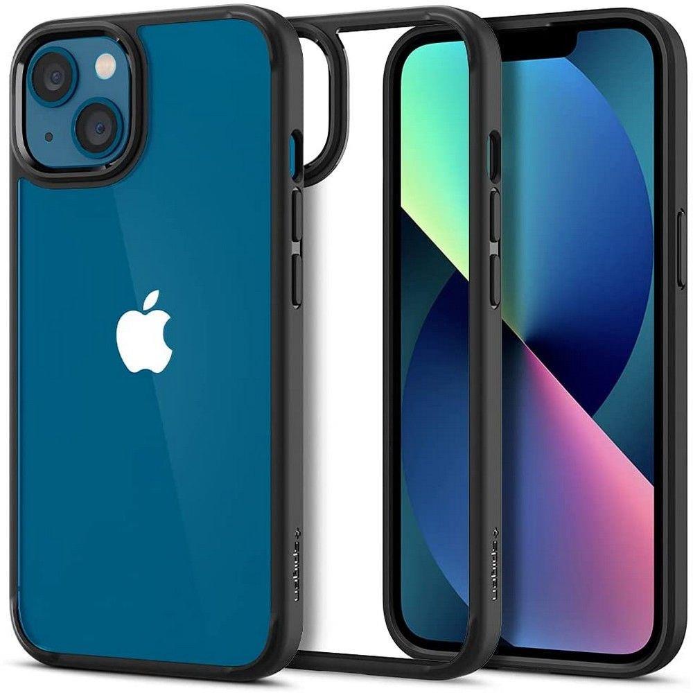 "Spigen Ultra Hybrid pouzdro na iPhone 13 6.1"" Matte black"