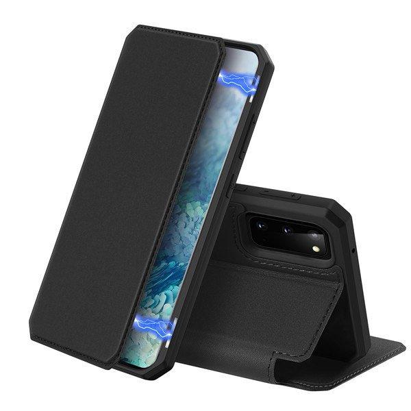 DUX DUCIS Skin X knížkové pouzdro na Samsung Galaxy S20 black