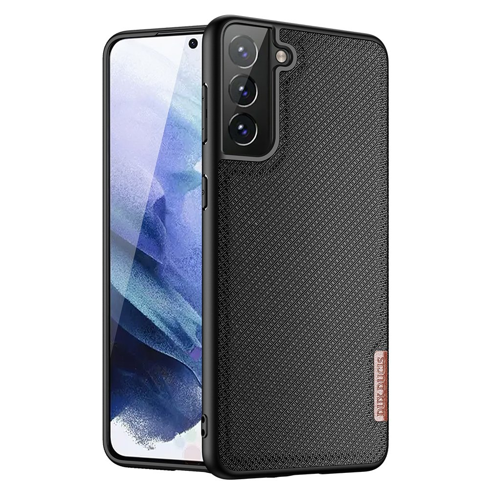Luxusní pouzdro Dux Ducis Fino Nylon ,  Samsung Galaxy S21 5G , černá 6934913053072